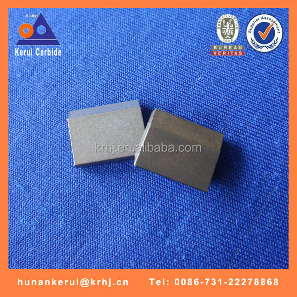 BK8 tungsten carbide saw tips for cutting bits