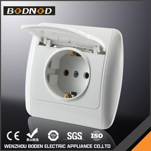 China good quality waterproof 2P electric wall usb socket uk