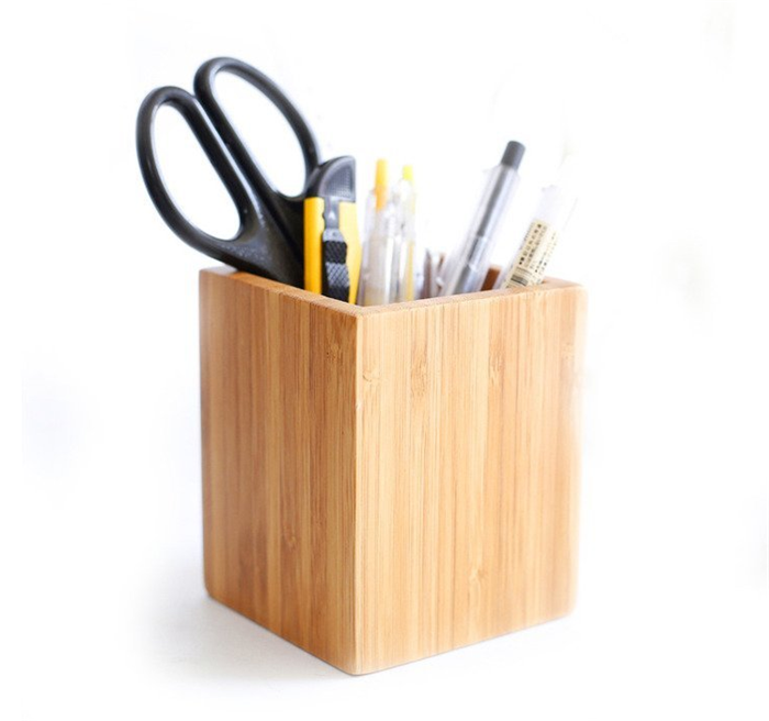 Incredible 100 Natural Bamboo Wood Desk Pen Pencil Holder Desk Organizer Buy Container Office Container Desk Organizer Product On Alibaba Com Home Interior And Landscaping Oversignezvosmurscom