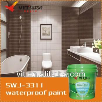 Vit Waterdichte Verf Badkamer Swj-3311 - Buy Product on Alibaba.com