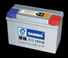 Various models 12v120AH MF car battery