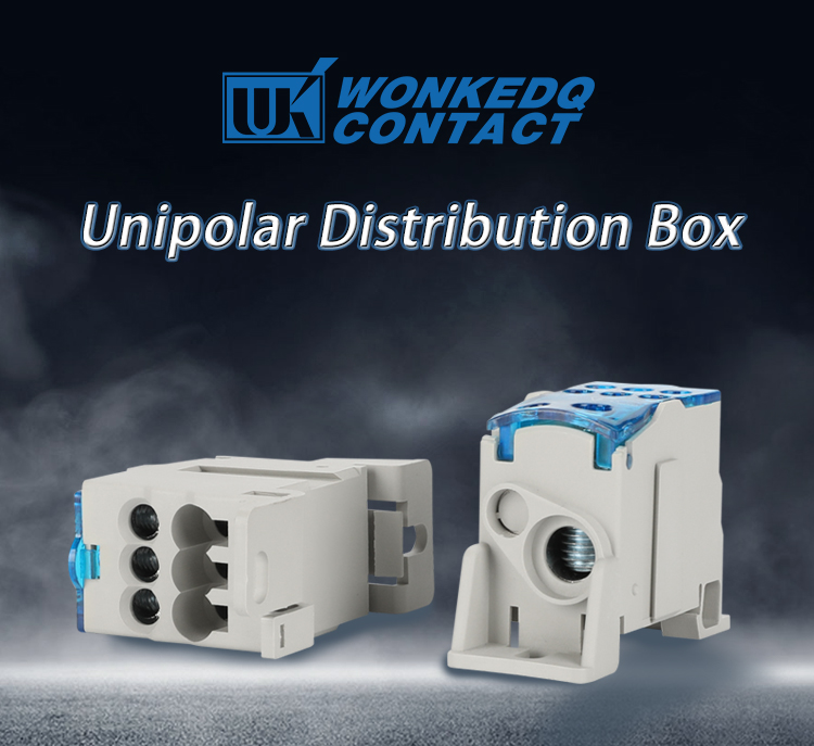 UKK 80A Power Distribution Terminal Block Box on Din Rail, View  distribution block, WONKEDQ Product Details from Yueqing Wonke Electric  Co , Ltd  on