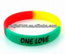 HOT Sale !!! Most Special and Lovely printed silicone bracelet