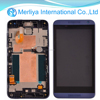 Blue Assembly LCD Display Digitizer Touch Screen For HTC Desire 610 With Frame