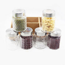 Glass Jam Jar With Metal Lid Sealed Storage Jar Glass Jar
