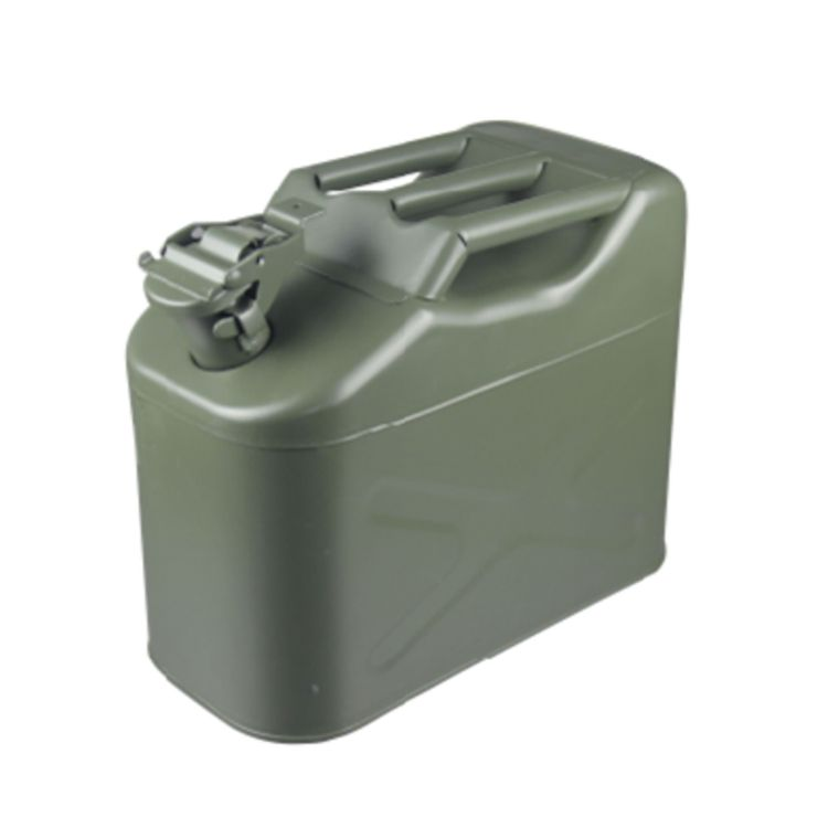 10L spout jerry can engine oil can oil drum With Flexible Spout