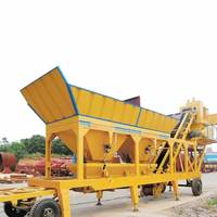 Offer concrete batching plant risk assessment,concrete batching plant on big semi trail portable