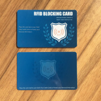 MDC12 Custom t5577 rfid blocking pvc card with magnetic stripe