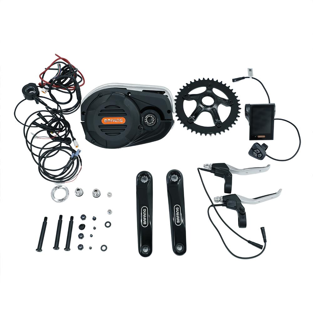 Bafang 8Fun ultra large torque 48v 1000w g510 mid drive motor e bike kit, Black