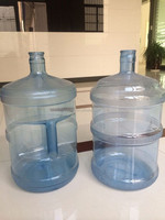 BPA Free Clear Plastic Water Container Bottle 5 Gallon Jug 100% Safe Plastic jug