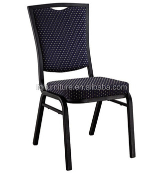 hot sale promotion strong stackable square back steel banquet chair QT1081
