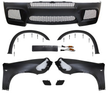 AUTO CAR PARTS FRONT BUMPER+BRACKET LICENSE+FRONT FENDER+FRONT TRIM WHEEL ARCH FOR BMW X5 E70 LCI 2010-2013 BODY KIT