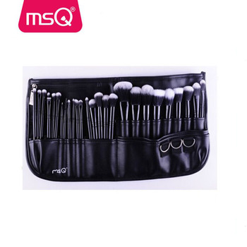 MSQ new item high quality stnthetic hair 29pcs brush set for sale