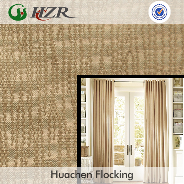 Jacquard Style 3 Pass Blackout Coated Fabric for Window Curtain