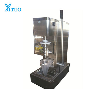 Best selling Professional Frozen Real Fruit Ice Cream Mixing Sorbet Machine For Sale
