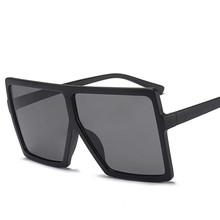 eea4e29ee6 2018 estilo de moda marco cuadrado grande buena cantidad de gafas de sol de  las mujeres