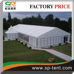 More than 10years life span Big ABS Hard Walls Tents 15x35m, 5x5m Entrance Tents