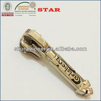 2018 Good quality 092 Lead-Free custom metal zipper pull