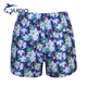 Floral printed sports shorts for men mens shorts with inner brief