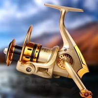 Metal Head Spinning Reel Fishing Gear Tackle Saltwater Fishing Reels For Fishing