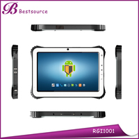 Rugged Android rfid reader tablet \ industry tablet \ fingerprint reader tablet