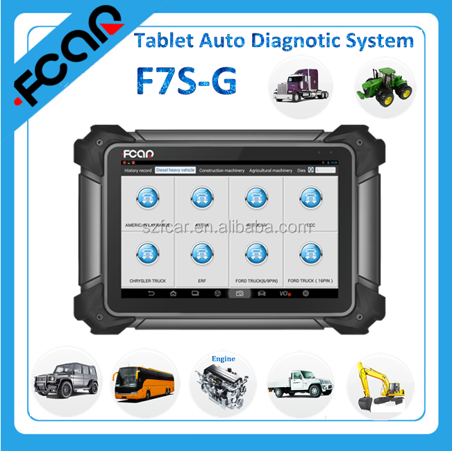 car diagnostic tool F7S-G auto diagnostic system support WIFI and bluetooth