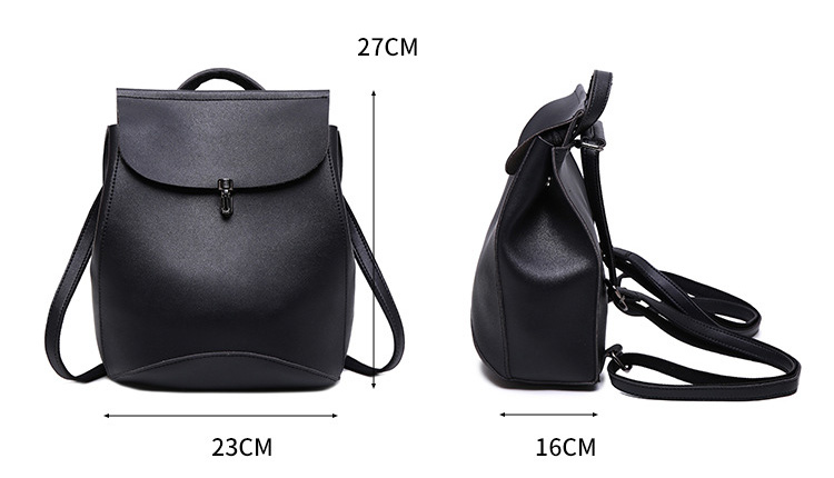 54c95eaac625 Detail Feedback Questions about Vintage Women Backpack Small Black ...