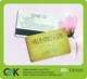 Factory provide pvc plastic gift cards printing loyalty thank you card with credit card size.