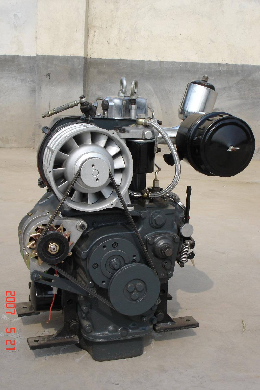 Hf195f Un Cylindre 12hp Moteur Refroidi Par Air Mwm Moteur