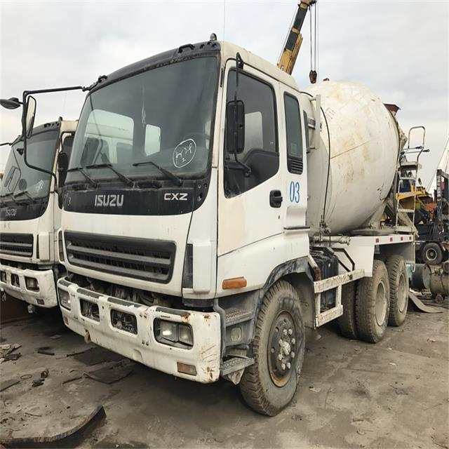 Japan Concrete Machinery Original Low Price 8m3 Used Concrete Mixer Truck For Sale