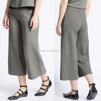 Women Plus Size Loose Fit Pants Trousers For Fat Las Formal Office Wear