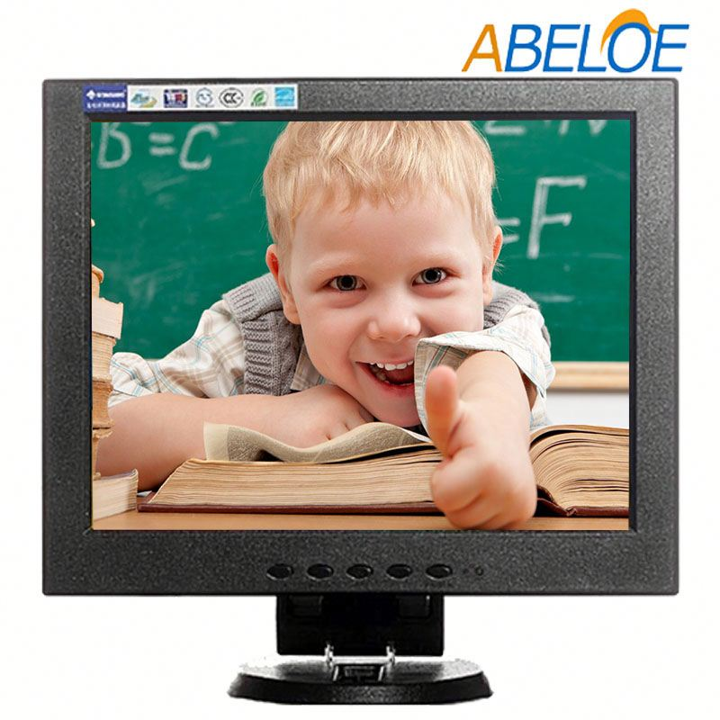 10.4 inch rack mount video lcd monitor with Vesa holes