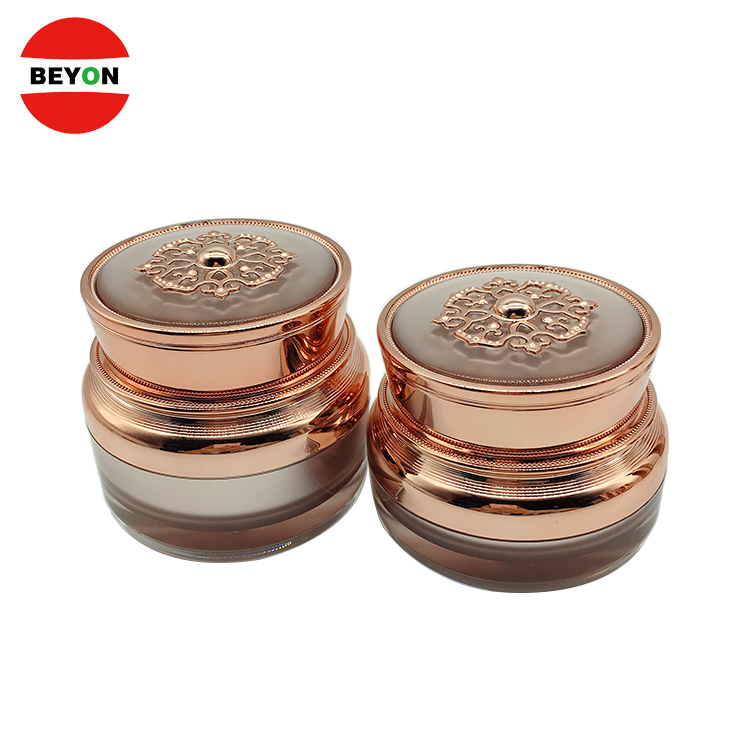 Personal Care  Round Luxury Cosmetic Eye Cream Jar