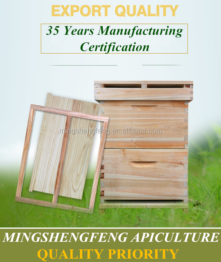 natural material bee box or hot sale beekeeping beehives