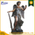 Large size home decoration metal egyptian bronze statue NTBS-056Y