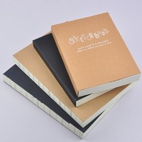 popular fashionable Kraft paper office notebook china book publisher