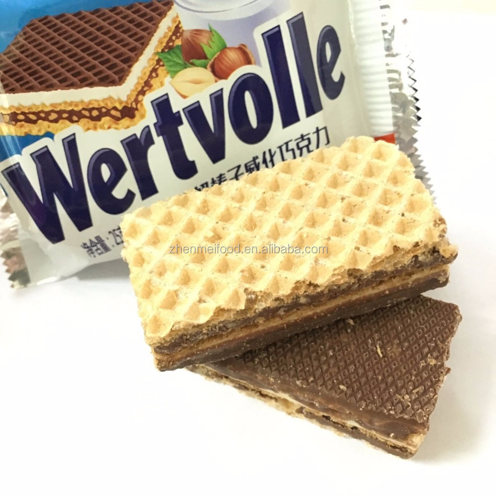 Hazelnut Milk Chocolate Wafer Health Food Snack