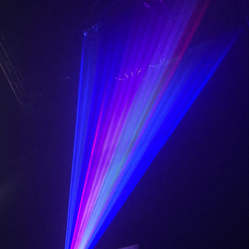 1w rainbow stage laser light show christmas party laser light