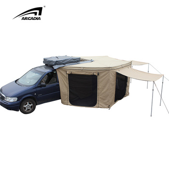 4WD Car Roof Top Awning Shade Camper Tent