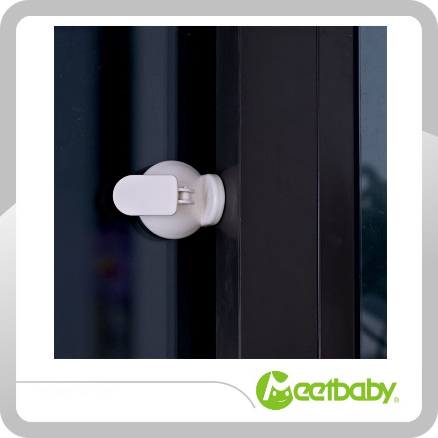 child safety products baby safety plastic suction sliding window lock