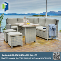 Outdoor sofa set corner sofa set, garden sofa set wicker outdoor furniture