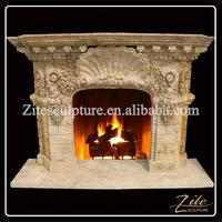 Home Decorative Popular fireplace mantel plans