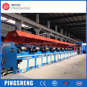 Pipe tube drawing machine for making piep and flux cored wire