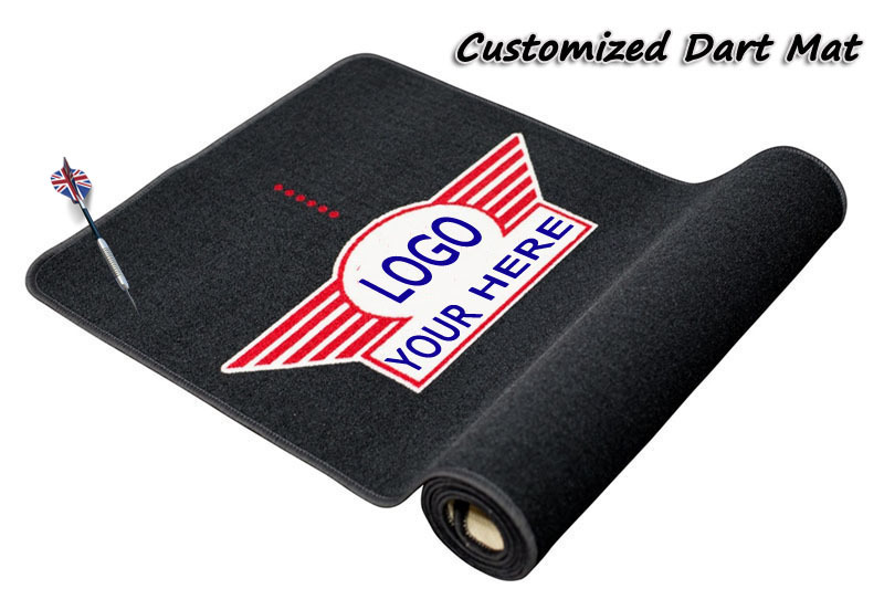 Custom Darts Club Play Game Carpet Dart Board Floor Mat