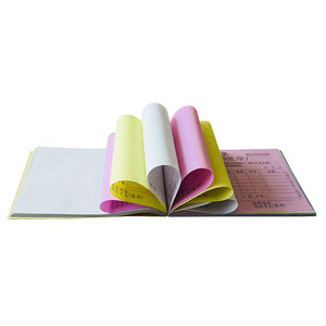 Guangzhou factory produced Carbonless Bill Book Receipt Paper/Customised Receipt book Printing
