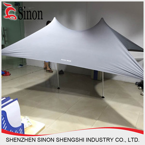 hot sale Portable UV50+ lycra Canopy Beach Tent with Sand Anchor