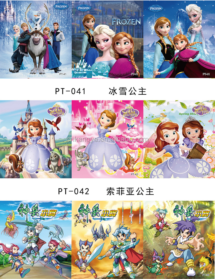 2019 high quality wholesale square paper intelligency toy jigsaw puzzles