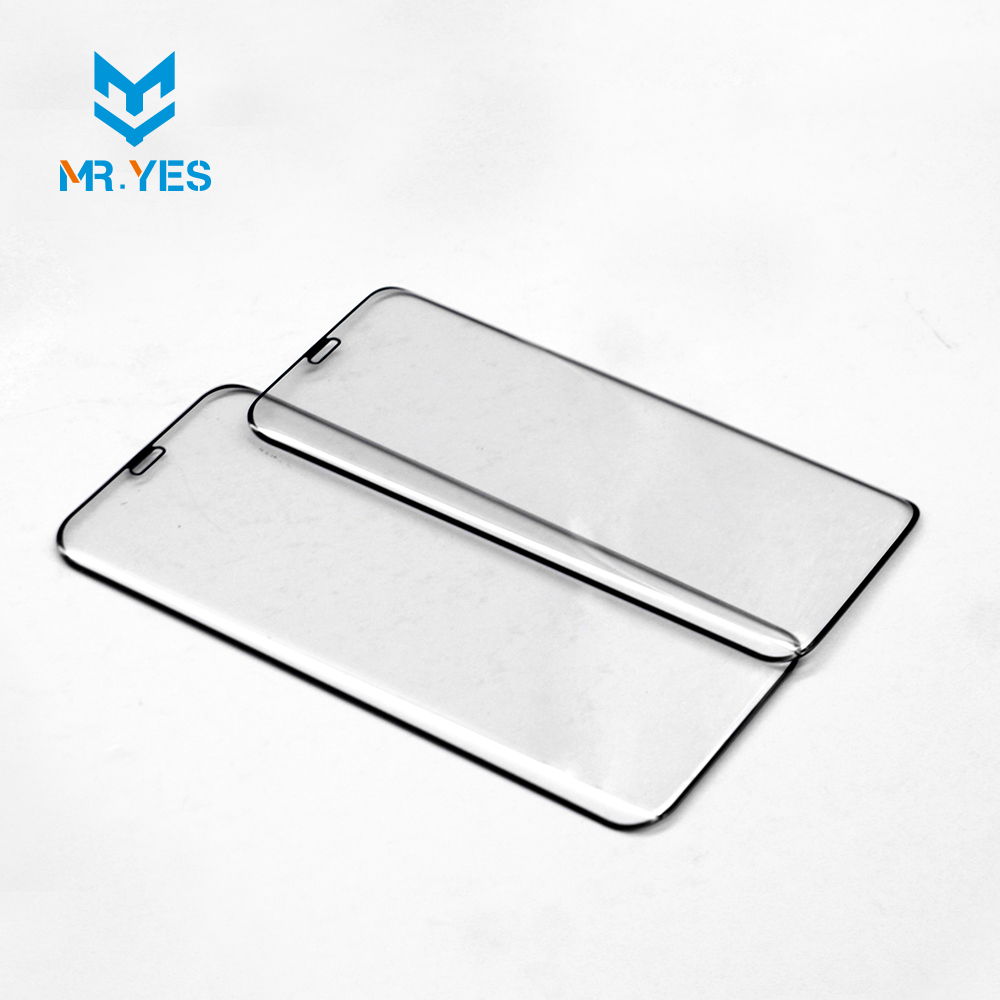 2017 hot selling products for screen protector s8 full glue glass