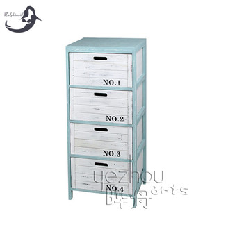 High Quality Solid wood 4 Drawer File Cabinet With Drawer