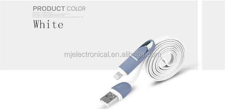 Free sample High quality Durable Double Sided hi-speed Male Type A USB 2.0 to Male Micro USB Cable for USB charge & Sync